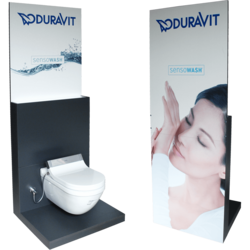 SensoWash-Display für DURAVIT