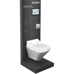Duravit SensoWash-Display mit Monitor